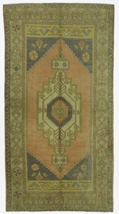 PINK Konya Rug #22 • 4′1″ x 7′9″ • 100% Wool