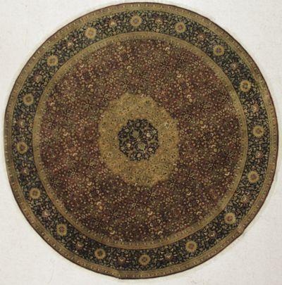Rust Farahan Rug #8500 • 8′0″ x 8′0″ • 100% Wool