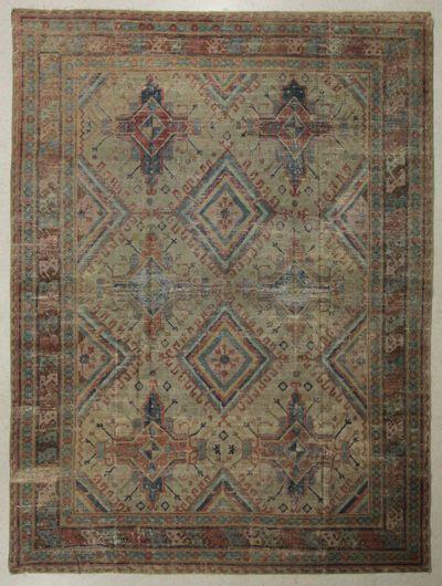 Gold Kothan Rug #7719 • 8′8″ x 11′6″ • 100% Wool