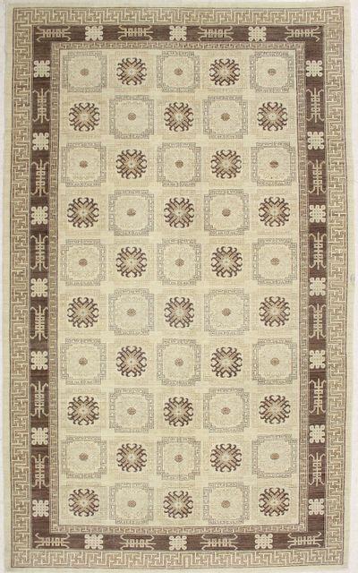 Ivory Kothan Rug #7210 • 8′0″ x 13′3″ • 100% Wool