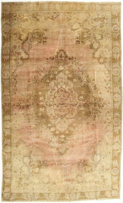 Ivory Konya Rug #2019 • 7′1″ x 12′0″ • 100% Wool
