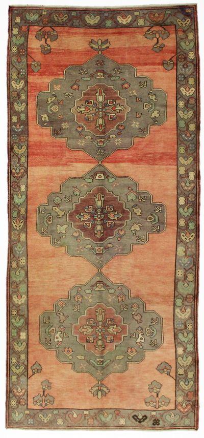 Rust Konya Rug #3 • 5′1″ x 11′2″ • 100% Wool