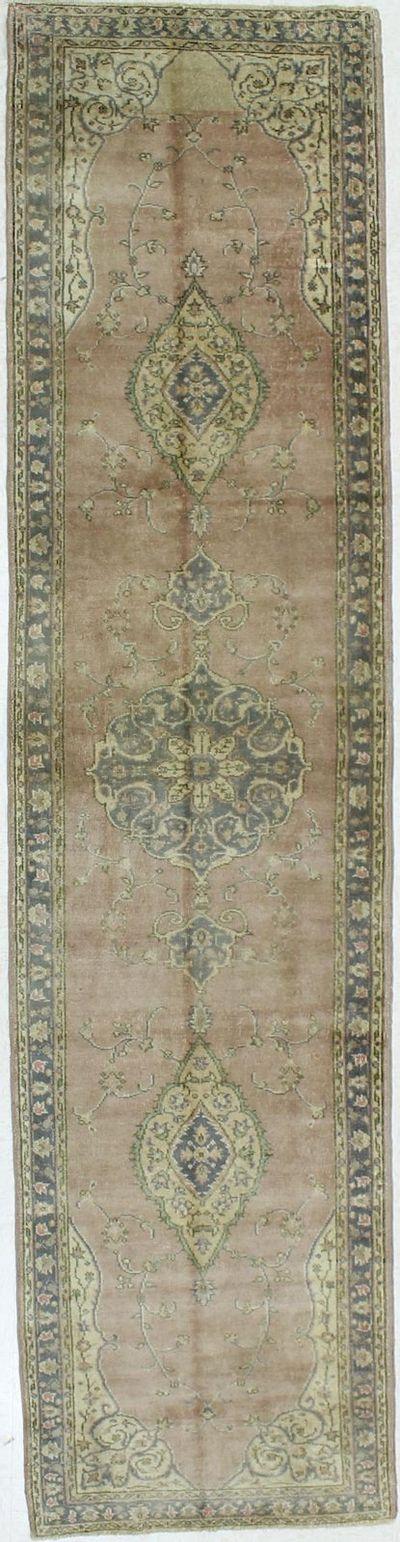 PINK Konya Rug #1039 • 2′11″ x 11′11″ • 100% Wool