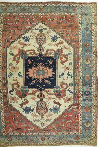 Rust Serapi Rug #505 • 12′0″ x 15′2″ • Wool on Cotton