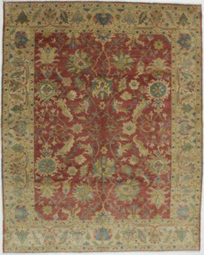Red Karaman Rug #609 • 8′0″ x 10′0″ • 100% Wool