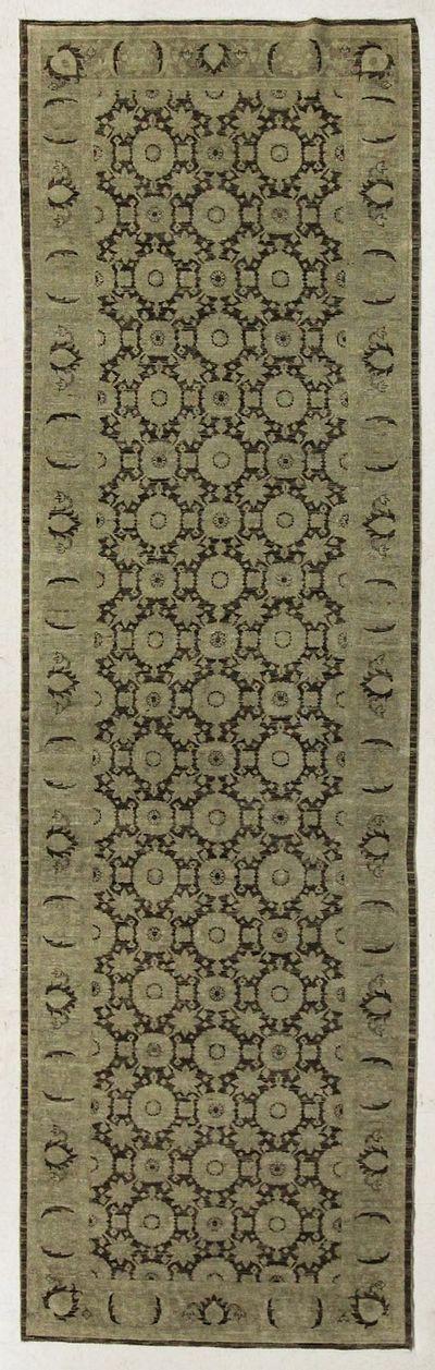 Brown Kothan Rug #7682 • 4′0″ x 14′0″ • 100% Wool