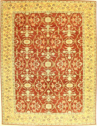 Red Sivas Rug #571 • 9′4″ x 12′2″ • 100% Wool