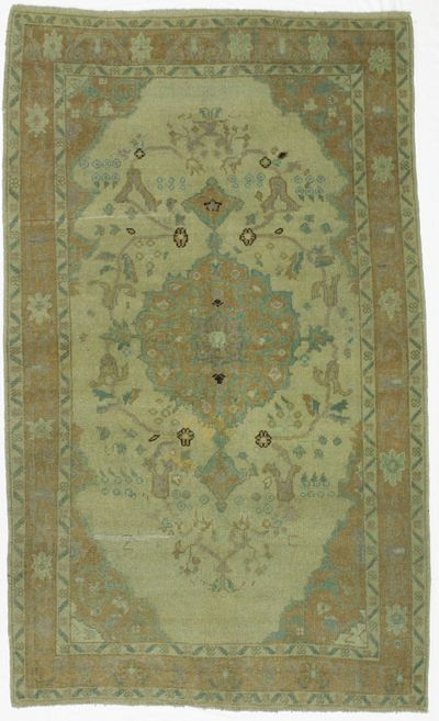 Ivory Konya Rug #17 • 4′2″ x 7′8″ • 100% Wool
