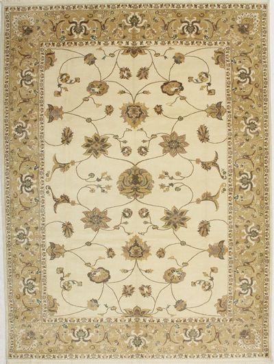 Ivory Sivas Rug #1489 • 9′1″ x 12′3″ • 100% Wool