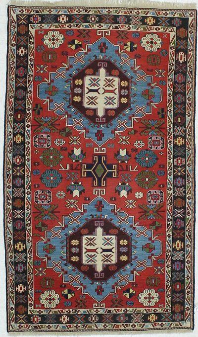 Red Sokuntu Rug #441 • 3′9″ x 5′4″ • 100% Wool