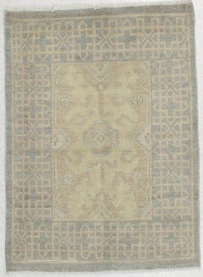 Gold Kothan Rug #6559 • 2′10″ x 3′11″ • Wool on Cotton