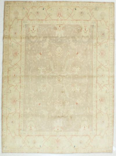 Light Brown Karaman Rug #514 • 6′9″ x 9′3″ • 100% Wool