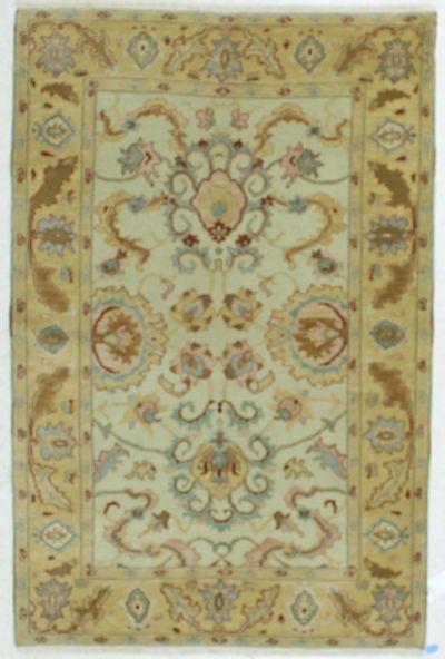 Gold Esme Rug #539 • 4′1″ x 6′2″ • 100% Wool