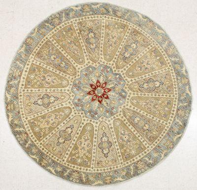 Gold Ushak Rug #7196 • 6′7″ x 6′7″ • 100% Wool