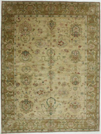 Camel Karaman Rug #547 • 9′1″ x 12′1″ • 100% Wool