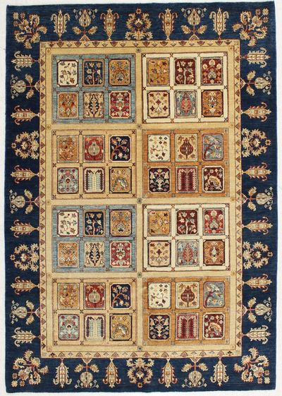 Multicolor Kazak Rug #6536 • 5′9″ x 8′2″ • Wool on Cotton