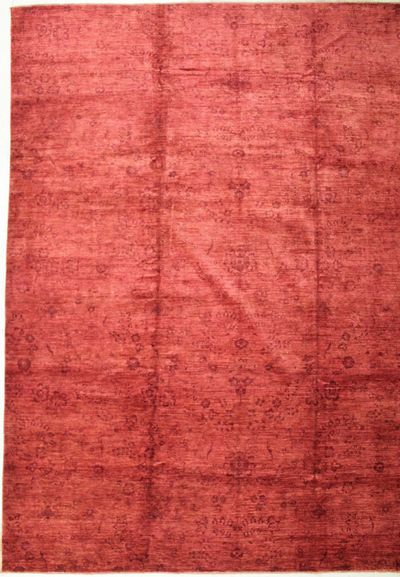 Red Modern Rug #8438 • 11′4″ x 14′7″ • 100% Wool