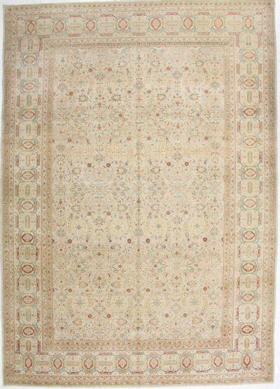 Light Brown Karaman Rug #657 • 10′0″ x 14′1″ • 100% Wool