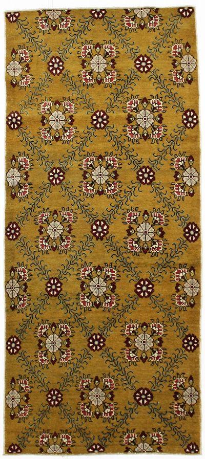 Gold Konya Rug #78 • 4′0″ x 9′2″ • 100% Wool