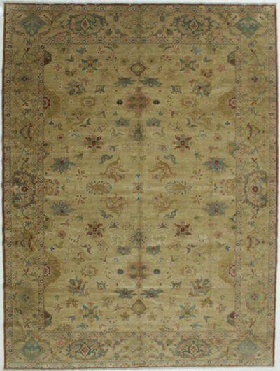 Camel Karaman Rug #544 • 9′3″ x 12′5″ • 100% Wool