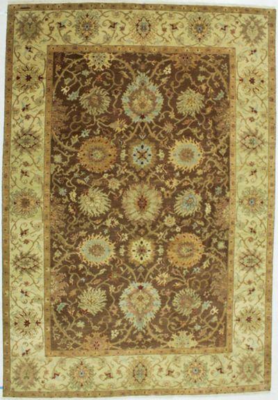 Brown Gordes Rug #532 • 8′10″ x 12′11″ • 100% Wool